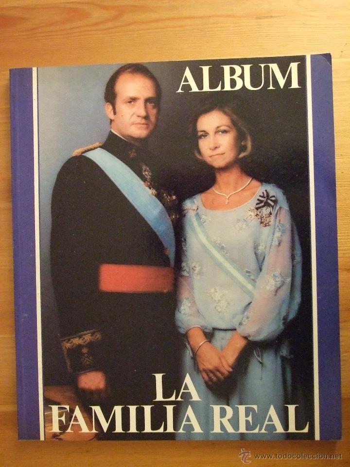 LA FAMILIA REAL - ALBUM PUNTO EDITORIAL - MADRID 1983 - EDIC. SA NOSTRA - LLEVA UNA FIRMA VER FOTOS (Libros de Segunda Mano - Biografías)