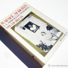 Libros de segunda mano: LA ARBOLEDA PERDIDA / R. ALBERTI / ED. SEIX-BARRAL 1976 / MEMORIAS / ILUSTRADO. Lote 48356607