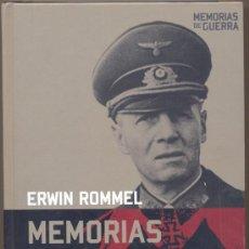 Libros de segunda mano: ERWIN ROMMEL-MEMORIAS-MEMORIAS DE GUERRA. Lote 48619369