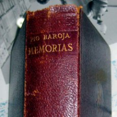 Libros de segunda mano: PIO BAROJA. MEMORIAS. 1955. Lote 48746219