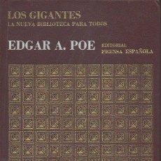 Libros de segunda mano: EDGAR ALLAN POE. VV.AA. PRENSA ESPAÑOLA, 1ª EDICIÓN, 1970. Lote 48964634