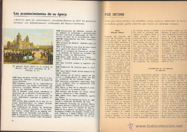 Libros de segunda mano: Edgar Allan Poe. VV.AA. Prensa Española, 1ª edición, 1970 - Foto 4 - 48964634