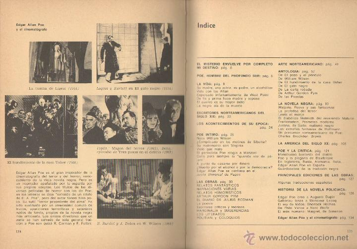 Libros de segunda mano: Edgar Allan Poe. VV.AA. Prensa Española, 1ª edición, 1970 - Foto 5 - 48964634