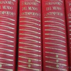 Libros de segunda mano: FORJADORES DEL MUNDO CONTEMPORÁNEO (4 VOLÚMENES) (PLANETA). Lote 49165069