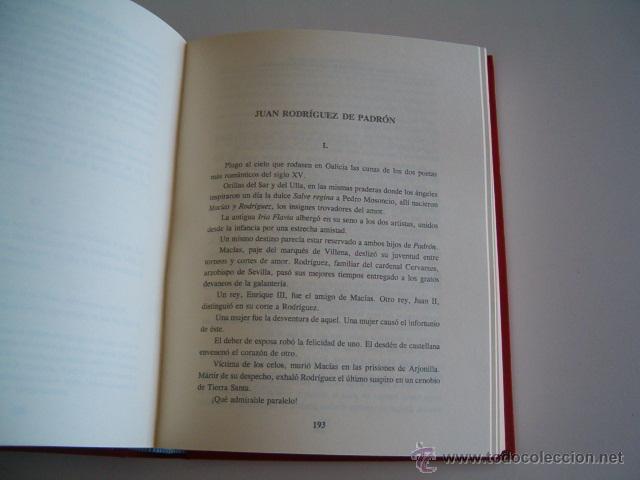 Libros de segunda mano: TEODOSIO VESTEIRO TORRES. Galería de Gallegos Ilustres. (Edición Facsimilar. DOS TOMOS. RM69202. - Foto 4 - 49289161