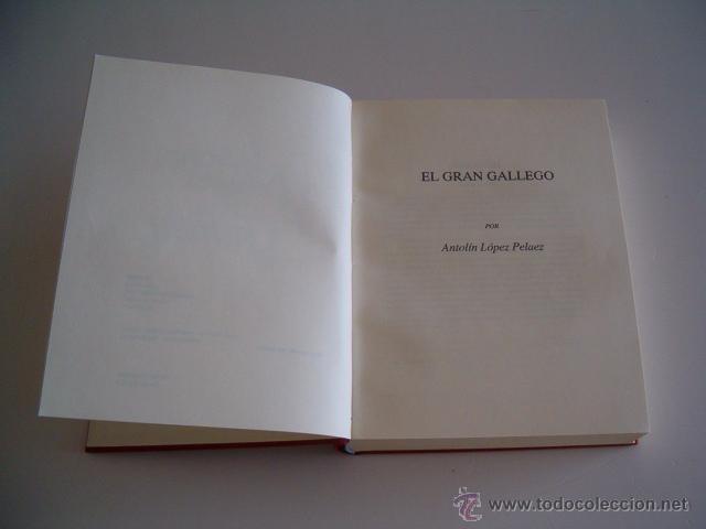 Libros de segunda mano: TEODOSIO VESTEIRO TORRES. Galería de Gallegos Ilustres. (Edición Facsimilar. DOS TOMOS. RM69202. - Foto 5 - 49289161