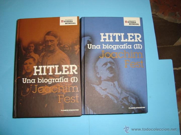 HITLER, UNA BIOGRAFÍA. JOACHIM FEST. I Y II (Libros de Segunda Mano - Biografías)