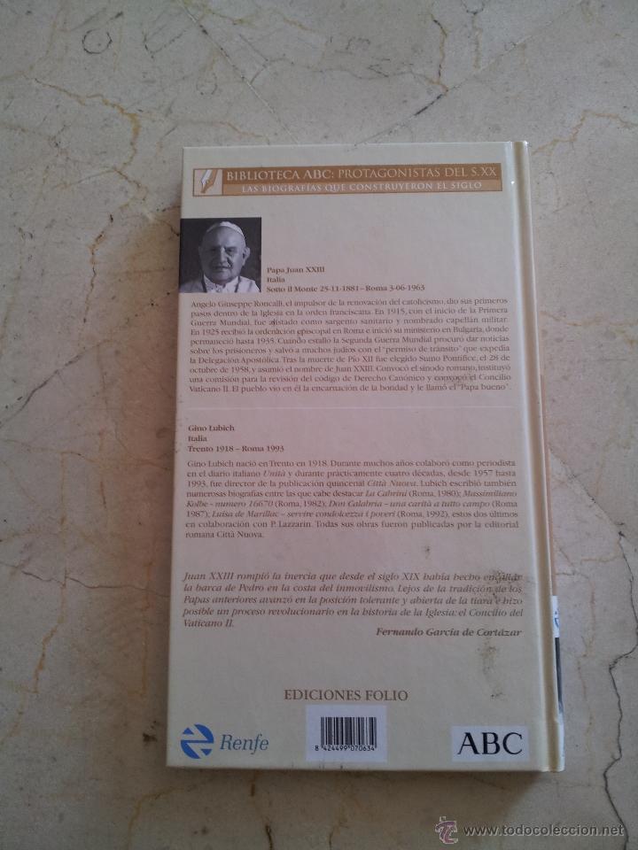 Libros de segunda mano: VIDA DE JUAN XXIII. EL PAPA EXTRAMUROS Gino Lubich ABC 2003 - Foto 3 - 49601130