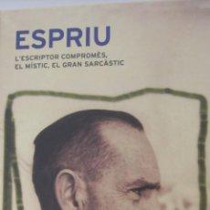 Libros de segunda mano: ALBUM ESPRIU. L´ESCRIPTOR COMPROMÉS, EL MÍSTIC, EL GRAN SARCÀSTIC (GALAXIA GÚTEMBERG). Lote 49717643