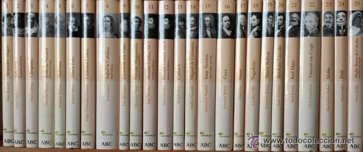 COLECCIÓN PROTAGONISTAS DE LA HISTORIA ABC 2004 - 25 VOLÚMENES. ¡¡COMPLETA E IMPECABLE!! (Libros de Segunda Mano - Biografías)