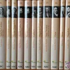 Libros de segunda mano: COLECCIÓN PROTAGONISTAS DE LA HISTORIA ABC 2004 - 25 VOLÚMENES. ¡¡COMPLETA E IMPECABLE!!. Lote 49763473