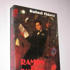 Libros de segunda mano: RAMÓN DE RAMONES. RAFAEL FLÓREZ. BITÁCORA, 1988. COLECCIÓN ULISES, 1. RAMÓN GÓMEZ DE LA SERNA. Lote 50090740