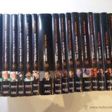 Libros de segunda mano: LOTE DE 28 LIBROS BIOGRAFICOS DE GRANDES PERSONALIDADES VIVAS, COLECCION DEL PERIODICO ABC. Lote 50107049
