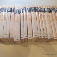 Libros de segunda mano: LOTE DE 17 LIBROS BIOGRAFICOS DE GRANDES PERSONALIDADES COLECCION DEL PERIODICO ABC. Lote 50107073