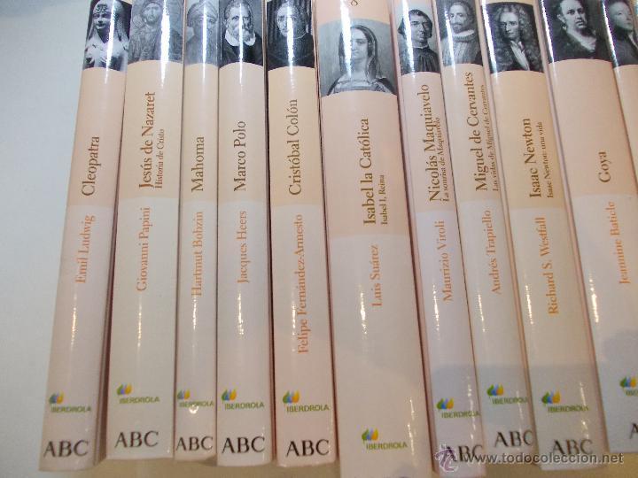 lote de 17 libros biograficos de grandes person - Comprar Libros de ...