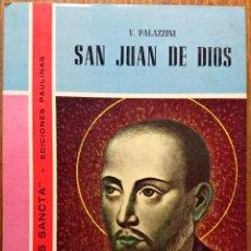 Libros de segunda mano: SAN JUAN DE DIOS. GENS SANCTA. PALAZZINI. Lote 50116473
