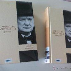 Libros de segunda mano: WISTON CHURCHIL. POR ROY JENKINS VOLUMEN I Y II. PRÓLOGO MANUEL FRAGA. 2003. Lote 50338998