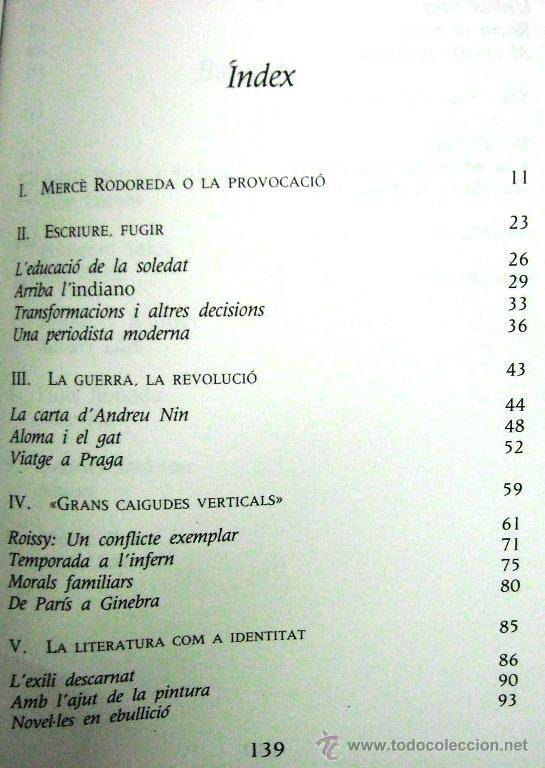 Libros de segunda mano: Mercè Rodoreda (Mercè Ibarz) - BIOGRAFÍA - LITERATURA - Foto 3 - 50804577