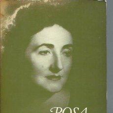 Libros de segunda mano: ALCANCÍA, IDA, ROSA CHACEL, SEIX BARRAL BARCELONA 1982, RÚSTICA, 433 PÁGS, TESTIMONIO INTELECTUAL . Lote 51061221