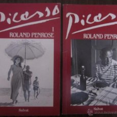Libros de segunda mano: PICASSO. ROLAND PENROSE. 2 VOLÚMENES.. Lote 52544616