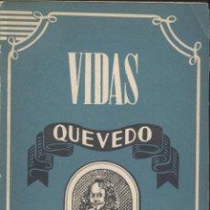 Libros de segunda mano: ANTONIO ESPINA: QUEVEDO. MADRID, ATLAS, 1945.. Lote 52522751