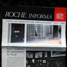 Libros de segunda mano: SOBRE LOS CIMIENTOS DEL PSICOANALISIS Nº 5 - FOTOS EXCLUSIVAS DEL APARTAMENTO DE FREUD. Lote 52809962