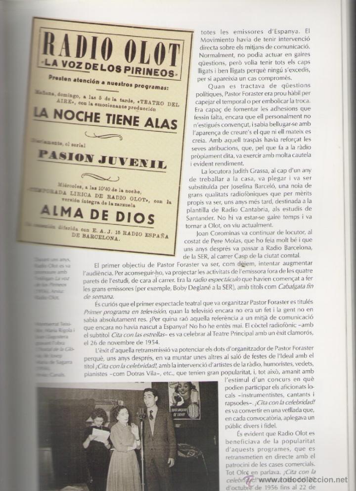 Libros de segunda mano: RADIO OLOT 50 ANYS 1951-2001 *** ALEXANDRE CUÉLLAR BASSOLS - Foto 5 - 52922237