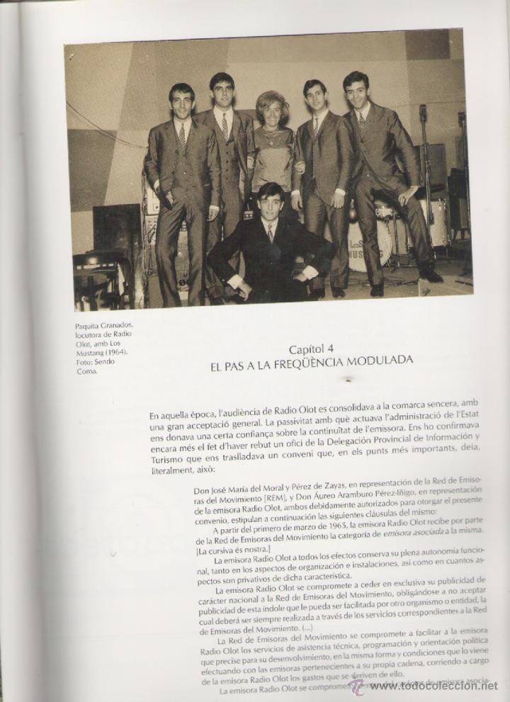 Libros de segunda mano: RADIO OLOT 50 ANYS 1951-2001 *** ALEXANDRE CUÉLLAR BASSOLS - Foto 6 - 52922237