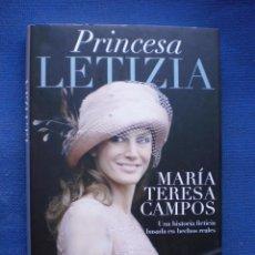 Libros de segunda mano: PRINCESA LETIZIA. Lote 53160410