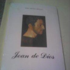 Libros de segunda mano: SAN JUAN DE DIOS JOSE ASENJO SEDANO 1988. Lote 53257146