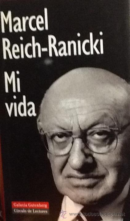 Resultado de imagen de mI VIDA LIBRO MARCEL REICH
