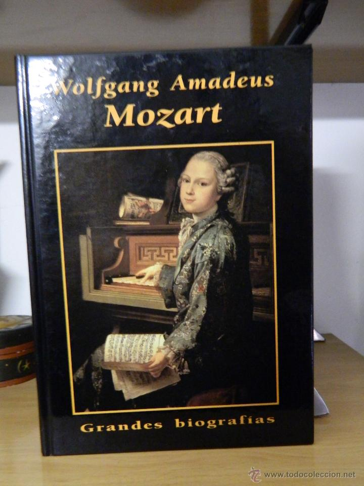 WOLFGANG AMADEUS MOZART - GRANDES BIOGRAFÍAS - 1996 (Libros de Segunda Mano - Biografías)