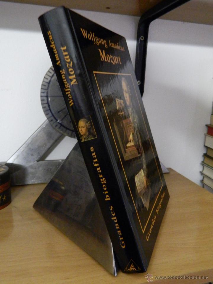 Libros de segunda mano: Wolfgang Amadeus Mozart - Grandes biografías - 1996 - Foto 3 - 53528045
