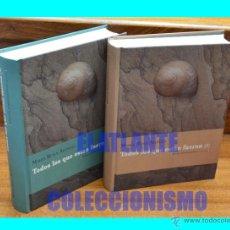 Libros de segunda mano: TODOS LOS QUE ESTÁN FUERON TOMOS I Y II - ARTÍCULOS BIOBLIOGRÁFICOS 1930 - 2002 - MARÍA ROSA ALONSO. Lote 53693392