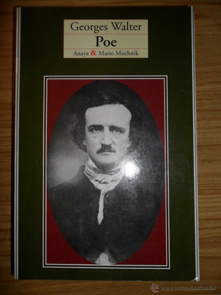 POE (GEORGES WALTER) BIOGRAFÍA DE EDGAR ALLAN POE (Libros de Segunda Mano - Biografías)