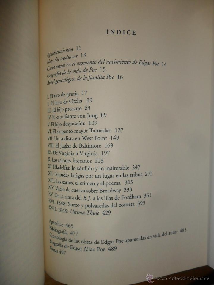 Libros de segunda mano: Poe (Georges Walter) biografía de Edgar Allan Poe - Foto 7 - 53756222