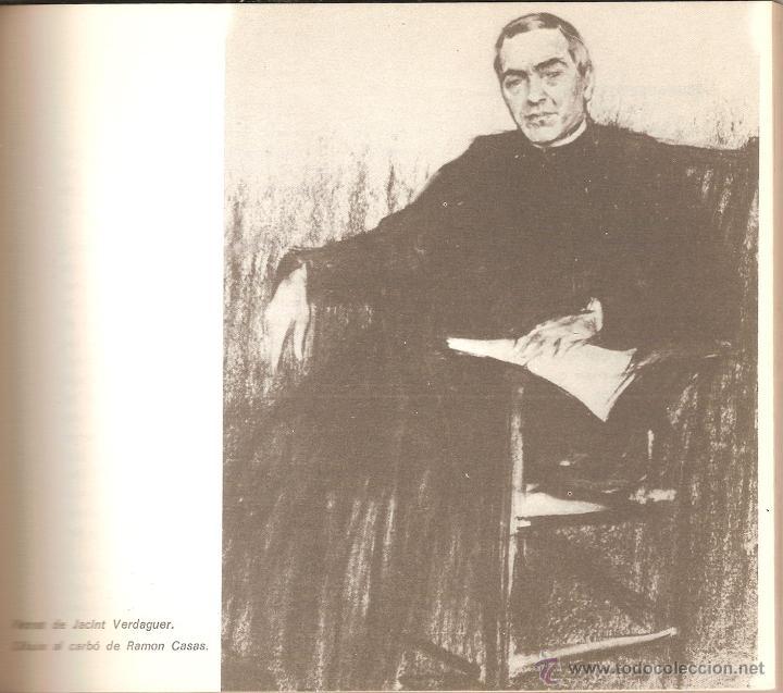 Libros de segunda mano: JACINT VERDAGUER, PRINCEP DELS POETES CATALANS - JOSEP M GARRUT - Foto 2 - 33322301