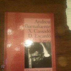 Libros de segunda mano: ANTIGUO LIBRO DIGUE'EM AGOSARAT ELS MONÒLEGS ESCRITO POR ANDREU BUENAFUENTE EDITORIAL COLUMNA . Lote 53996126