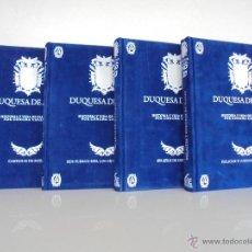 Libros de segunda mano: DUQUESA DE ALBA HD 3D. EDICIONES ABANTERA. 4 TOMOS VER FOTOGRAFIAS ADJUNTAS. CONCHA CALLEJA.. Lote 54157691
