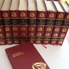 Libros de segunda mano: COLECCIÓN GRANDES BIOGRAFÍAS. Lote 54294328