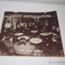 Libros de segunda mano: ENRIC JARDÍ: QUIM BORRALLERAS I ELS SEUS AMICS AÑO 1979. Lote 54330847