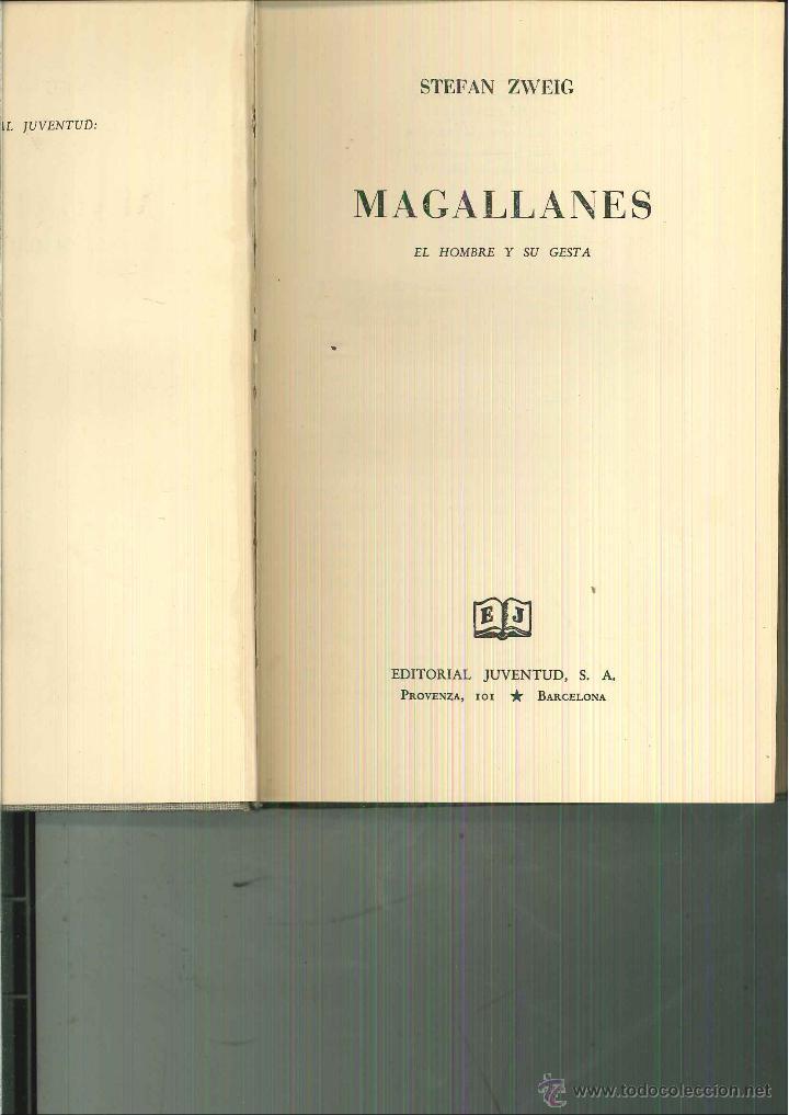 MAGALLANES. EL HOMBRE Y SU GESTA. STEFAN ZWEIG (Libros de Segunda Mano - Biografías)