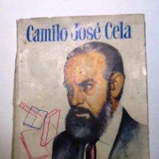 Libros de segunda mano: CAMILO JOSE CELA. 1953. MARINO GOMEZ SANTOS. PEQUEÑA HISTORIA DE GRANDES PERSONAJES. Lote 54837583