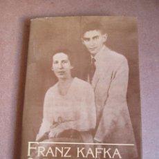 Libros de segunda mano: CARTAS A FELICE FRANZ KAFKA. Lote 54924245