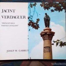 Libros de segunda mano: JACINT VERDAGUER - JOSEP M. GARRUT. Lote 55104230