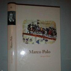 Libros de segunda mano: MARCO POLO 2004 JACQUES HEERS BIBILIOTECA ABC PROTAGONISTAS DE LA HISTORIA. Lote 55243822