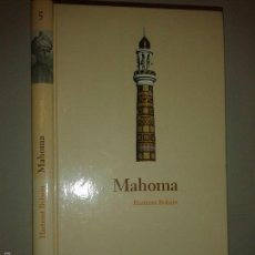 Libros de segunda mano: MAHOMA 2004 HARTMUT BOBZIN BIBILIOTECA ABC PROTAGONISTAS DE LA HISTORIA. Lote 55243889
