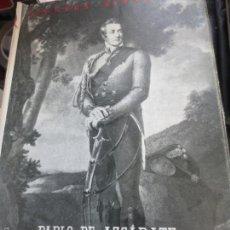 Libros de segunda mano - WELLINGTON Y ESPAÑA PABLO DE AZCÁRATE EDIT ESPASA-CALPE AÑO 1960 - 55351530