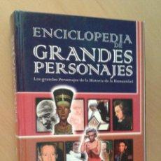 Libros de segunda mano: ENCICLOPEDIA DE GRANDES PERSONAJES - ED, NAUTA. Lote 55396384