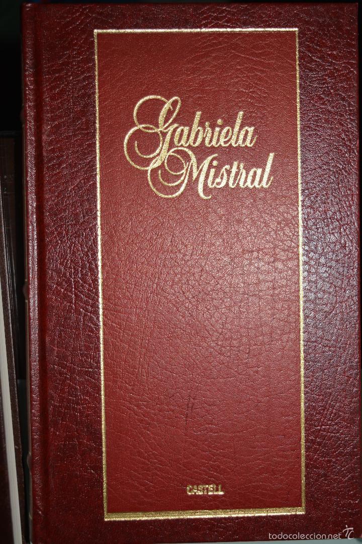 GABRIELA MISTRAL. GRANDES PERSONAJES. (Libros de Segunda Mano - Biografías)